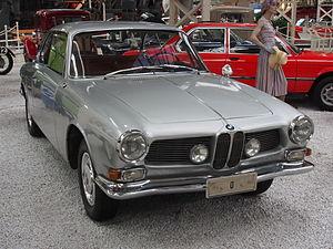 BMW 3200 CS - Image: Silver BMW 3200 CS