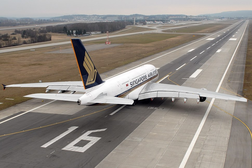 Singapore Airlines Airbus A380 Wallner