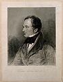 Sir William Lawrence. Stipple engraving by F. C. Lewis, seni Wellcome V0006536.jpg