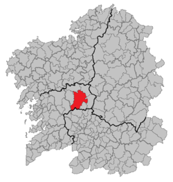 Location of Lalín