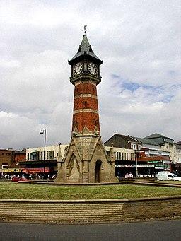 Skegness Clock Tower - geograph.org.uk - 15132