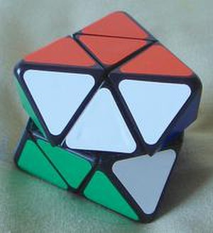 Skewb Diamond - The Skewb Diamond, slightly twisted