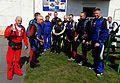 Skoczkowie sekcji spadochronowej Aeroklubu Gliwickiego, Gliwice 2017.04.01.jpg