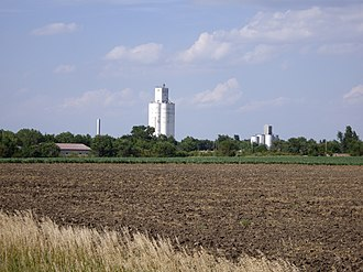 Lehigh, Kansas - Skyline of Lehigh (2010)