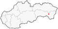 Slovakia with Sečovce.png