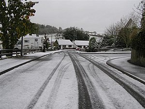 English: Slush, Omagh Somehow, I would think t...