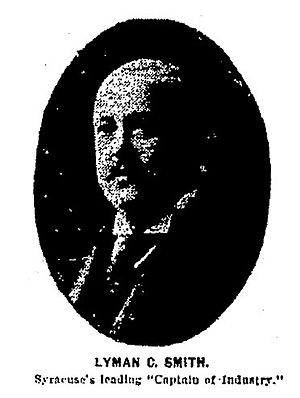 Smith Corona - Lyman C. Smith, One of the founders of Smith Premier Typewriter Co., December 31, 1903