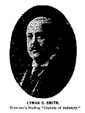 Smith Corona - Lyman C. Smith, One of the founders of Smith Premier Typewriter Co., December 31, 1903