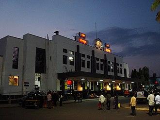 Solapur - Main entrance of Solapur Railway Station