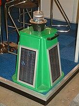 Solar powered navigation light