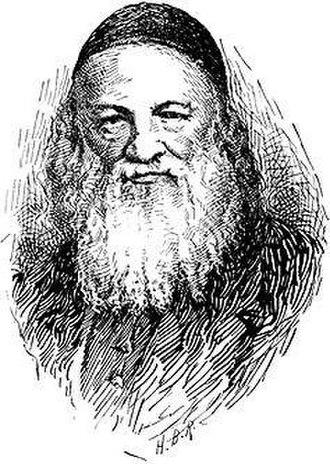 Solomon Judah Loeb Rapoport - Image from The Jewish Encyclopedia