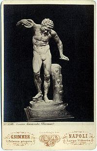 Sommer, Giorgio (1834-1914) - n. 5540 - Fauno danzante (Firenze).jpg