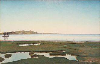 Randers Museum of Art - Image: Sommerdag ved Roskilde Fjord