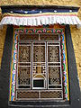 Songzalin Monastery main prayer hall window 1.JPG