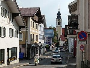 Sonthofen - Marktstraße (main street downtown)