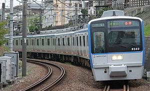 Sotetsu 9000 series - 9000 series set 9703 in April 2014