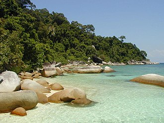 Tourism in Malaysia - South Beach, Perhentian Besar