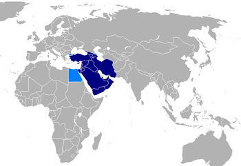 Western Asia in most contexts. Possible extens...