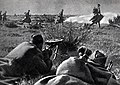 Soviet troops in battle near Riga Baltic Offensive.jpg