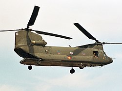 Spanish Army Chinook