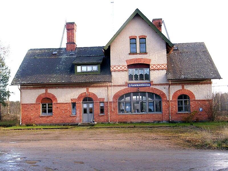 spannarboda station