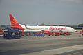 SpiceJet VT-SLC - Boeing 737-900 MSN 34956 - Indira Gandhi International Airport - New Delhi 2016-08-04 5792.JPG