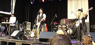 Spoons (band) - Spoons performing at the 2008 Friendship Festival in Fort Erie, Ontario