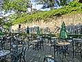 Square in front of statue of Tamaki Miura - panoramio.jpg
