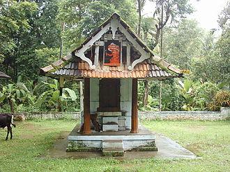 Pariyaram Medical College - Temple near the Medical College