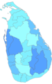 Sri Lankan Provinces and districts.PNG