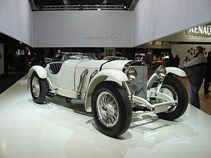 Mercedes-Benz SSK - Image: Sskretroav