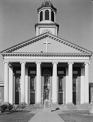 Bardstown, Kentucky - St. Joseph Proto-Cathedral in Bardstown