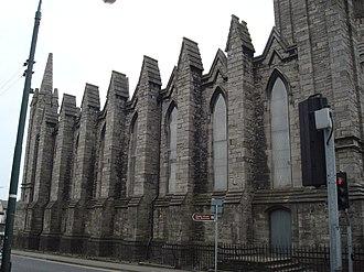 St Mary's, Dublin (chapel of ease) - Image: St. Marys Chapel of Ease, Dublin, Side