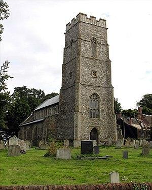 Banningham - Image: St Botolph, Banningham, Norfolk
