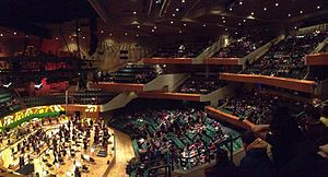 St David's Hall - The interior of St David's Hall