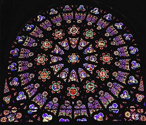 Forest glass - Cathedral of St. Denis, Paris