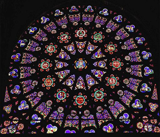 Don T Eat The Paste Coloring Page Rose Window At Saint