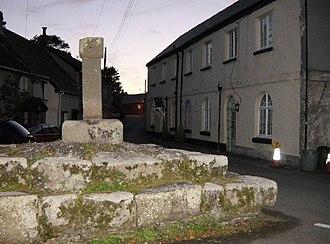 St Ewe - St Ewe Cross