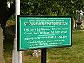 St John the Baptist, Bretherton, Sign - geograph.org.uk - 1374254.jpg