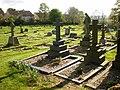 St Mary's Church, Wyke, Graveyard - geograph.org.uk - 1286839.jpg
