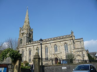 Listed buildings in Clitheroe - Image: St Mary Magadalene Clitheroe