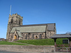 St Oswald's Church, Bidston - Image: St Oswald's Church, Bidston
