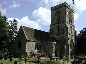 Langley Burrell - Image: St Peters Langley Burrell