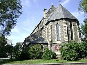 St. Thomas Episcopal Church (Taunton, Massachusetts) - Image: St Thomas Taunton