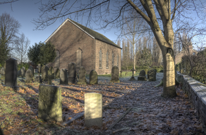Carrington, Greater Manchester - Image: St georges church carrington greater manchester