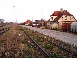 Kokoszki - Kokoszki railway station (closed down)