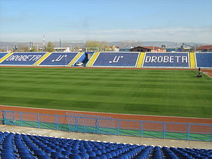 Stadionul Municipal (Drobeta-Turnu Severin) - Image: Stadionulm DTS1
