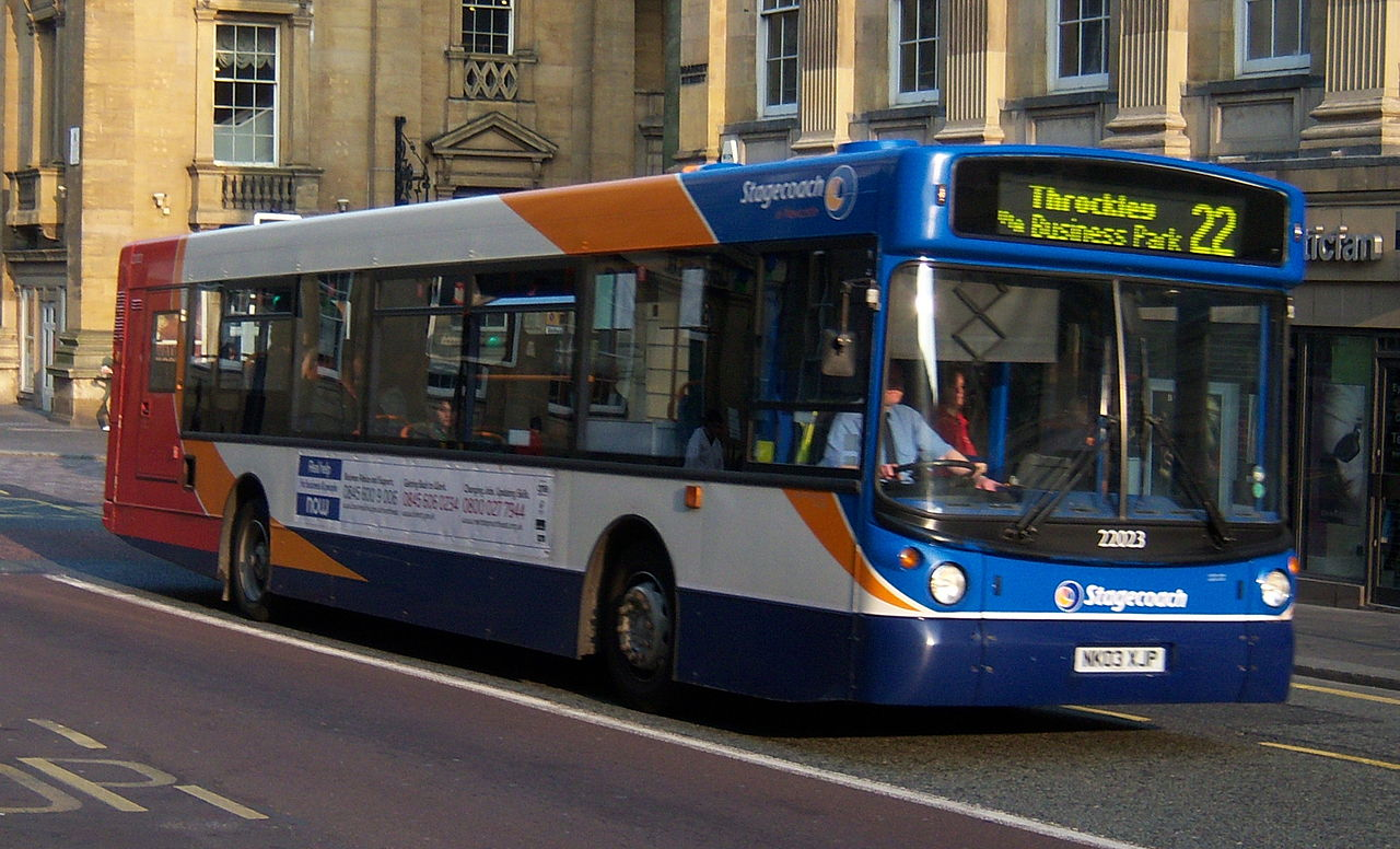 File Stagecoach In Newcastle Bus 22023 Man Transbus Alx300
