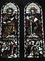Stained glass window on the west wall at Holy Trinity, Privett - geograph.org.uk - 1182215.jpg
