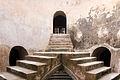 Staircase in underground mosque, Taman Sari, Yogyakarta 2014-04-24.jpg